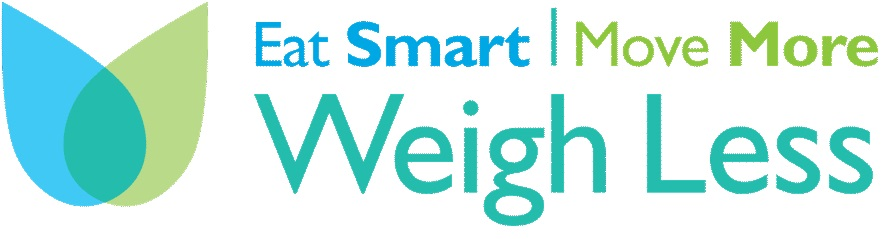Eat Smart Move More Weigh Less Logo